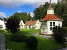Paviljongen og hagehuset